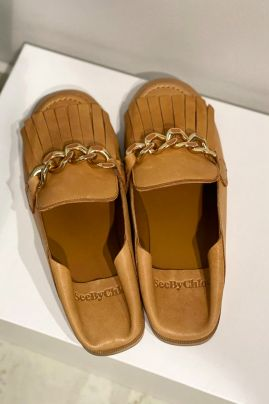 SeeByChloe leather shoes slippers