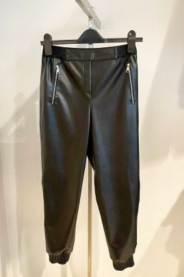 Karl Lagerfeld eco-leather pants